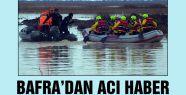 Bafrada 'Tekne faciasında' acı haber