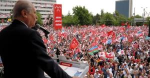 Bahçeli: AKP'nin yönettiği Türkiye'de bebekler bile borçlu