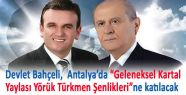 Bahçeli Antalya'da Türkmen Şenliklerine Katılacak