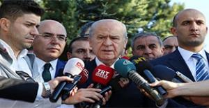 Bahçeli'den red:AKP'yi değil millet iradesini arzularız