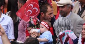 Bahçeli, Erzincan Mitinginde demediğini bırakmadı