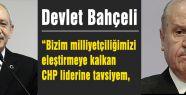 Bahçeli Kılıçdaroğlu'na cevap verdi...