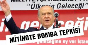 Bahçeli, MHP Mitinginde 'Bomba Patlayacak' sözlerine bakın ne dedi?