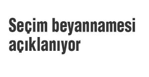 MHP Seçim beyannamesini açıklıyor