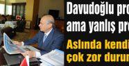 Bahçeli:Davudoğlu projedir ama yanlış projedir