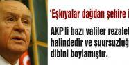 Bahçeli'den; PKK ve Apo Tepkisi
