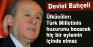 Bahçeli:''MHP Bu Eylemlerde Yer Almaz''