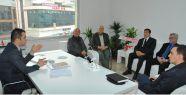 Balkan Göçmenleri Federasyonu'ndan Usta'ya ziyaret