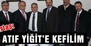Başbak Demirtaş'tan Atıf Yiğit'e Ziyaret