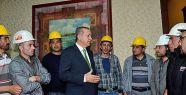Başbakan maden işçileriyle görüştü