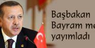 Başbakan'dan Bayram Mesajı