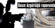 Basın özgürlüğü raporunda Türkiye