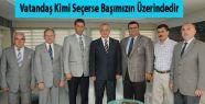 Başkan Ergün MHP Şehzadeler Ekibi'ni Ağırladı