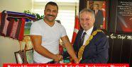 Başpehlivan'dan Ayvacık Belediye Başkanına Ziyaret