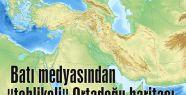 """Batı medyasından """"tehlikeli"""" Ortadoğu haritası"""