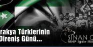 Batı Trakya Türklerinin Milli Direniş Günü...