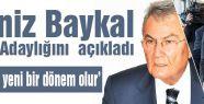 Baykal, Aday Adaylığı Başvurusunda Bulundu