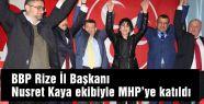 BBP Rize İl Teşkilatı MHP'ye geçti