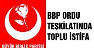BBP'de toplu istifa