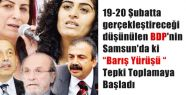 BDP'lilerin Karadeniz çıkarması