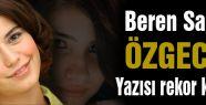 Beren Saat'in Özgecan yazısı rekor kırıyor