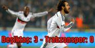 Beşiktaş: 3 - Trabzonspor: 0