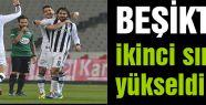 Beşiktaş ikinci sıraya yükseldi