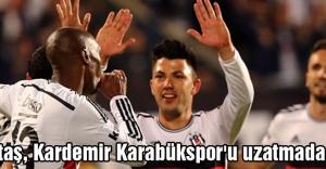Beşiktaş, Kardemir Karabükspor'u 2-1 mağlup etti.