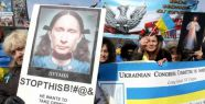 Beyaz Saray'a Ukrayna protestosu