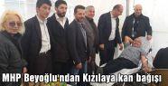 Beyoğlu MHP 'den Teşkilatı anlamlı girişim...