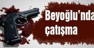 Beyoğlu'nda çatışma çıktı...
