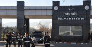 Bingöl Üniversitesi'nde gerginlik