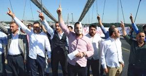 Boğaziçi Köprüsü'nü Yazıcıoğlu için trafiğe kapattılar