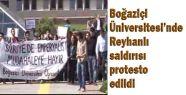 Boğaziçinde Reyhanlı Protestosu