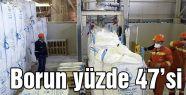 Borun yüzde 47'si Türkiye'den