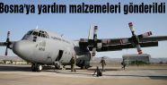 Bosna'ya yardım malzemeleri gönderildi