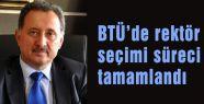 BTÜ'de rektör seçimi süreci tamamlandı