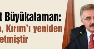Büyükataman'dan Kırım Sürgünü'nün 71. yıldönümü açıklaması