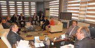 Çamaş'tan Başkan Burma'ya Nezaket Ziyareti