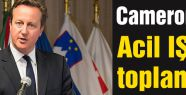 Cameron'da acil IŞİD toplantısı