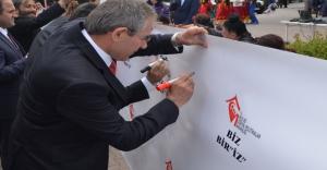CHP'li Zeybek Enelliler Haftası Etkinliğine katıldı...