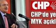 CHP'de yeni MYK açıklandı