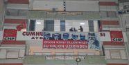 CHP'den Bilal Erdoğan'lı yeni yolsuzluk pankartı