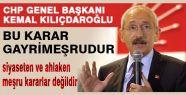 CHP'li ince;'Onlar tutuklu değil rehinedir