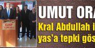 CHP'li Oran'dan, Kral Abdullah için yas tepkisi