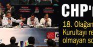 CHP'nin 18. Olağanüstü Kurultayı resmi olmayan sonuçlar