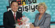 Çin Heyeti Manisa Belediyesi'ni Ziyaret Etti