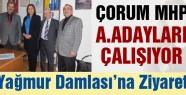 Çorum'da MHP A.Adayları Tempoyu Artırdı