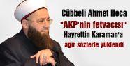 Cübbeli Ahmet Hoca;