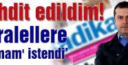 """Cüneyt Özdemir: """"Tehdit edildim!"""""""
